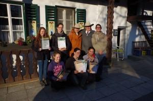 hinten li:Ramona Sixt,Tanja Freund,Renate Ettl(Richterin,Ingo Hischkorn(Richter) Angela Hoschkara vorne links: Sabrina Scholz, Barbara Nebl,Caroline Pösl